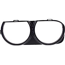 Headlight Bezel - Black, Sold individually