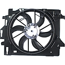 OE Replacement Radiator Fan - Included Resistor