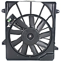 OE Replacement Radiator Fan - Fits 3.7L/4.0L, Includes Shroud