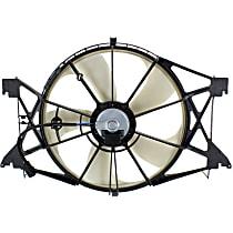 OE Replacement Radiator Fan - Fits 4.7L/5.7L, Mounts Ahead of Radiator