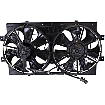 OE Replacement Radiator Fan - Fits 6cyl, Sedan, Motor Stamped 4595782 or 4662598