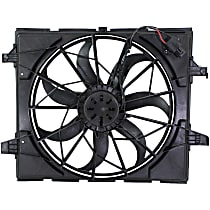 OE Replacement Radiator Fan - Fits w/ STD Duty Cooling 3-Ping Plug
