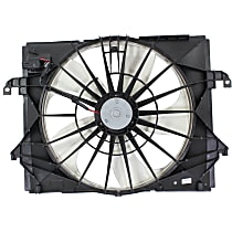 OE Replacement Radiator Fan - Fits 3.7L, Mounts Behind Radiator