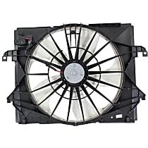 OE Replacement Radiator Fan - Fits 3.7L, Mounts Behind Radiator