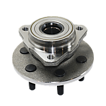 Front, Driver or Passenger Side Wheel Hub And Bearing Assembly, For 2-Wheel ABS, 4WD