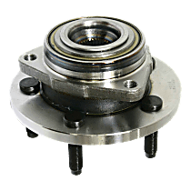 Front Wheel Hub Bearing Assembly Driver or Passenger side For Models with 2-Wheel ABS