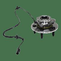Front Wheel Hub Bearing Assembly Driver or Passenger Side, For 5 Lug Models