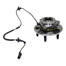Front, Driver or Passenger Side Wheel Hub With Tapered bearing - Sold individually