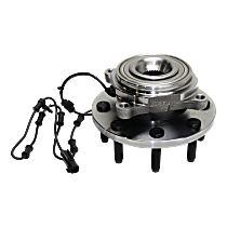 Front Wheel Hub Bearing Assembly Driver or Passenger Side For 4WD Models