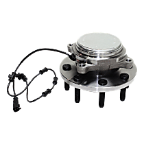 Front Wheel Hub Bearing Assembly Driver or Passenger Side, For RWD/2WD