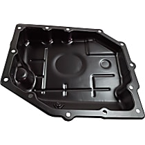Replacement REPD318602 Transmission Pan - Black, Steel, Direct Fit, Sold individually