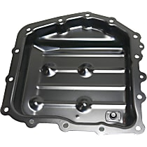 Replacement REPD318603 Transmission Pan - Black, Steel, Direct Fit, Sold individually