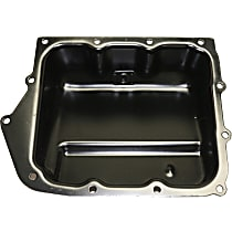 Replacement REPD318604 Transmission Pan - Black, Steel, Direct Fit, Sold individually