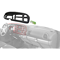 Instrument Panel Cover - Black
