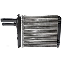 Heater Core 6.5 x 6 x 1.5 in. Core, 0.63 in. Inlet, 0.63 in. Outlet