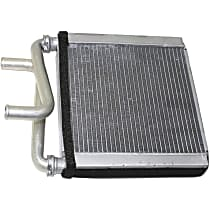 Heater Core 6.25 x 7.38 x 1 in. Core, 0.63 in. Inlet, 0.63 in. Outlet