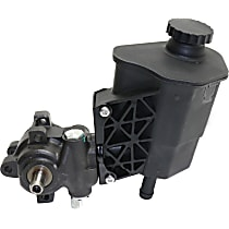 Power Steering Pump - With Reservoir, Fits models without ZF Pump