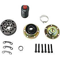 Driveshaft CV Joint Kit - Propeller Shaft, Front, 4WD, Direct Fit