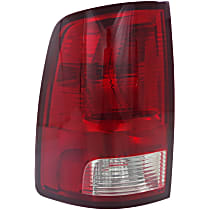 Driver Side Halogen Tail Light, With bulb(s) - Standard Type, CAPA CERTIFIED