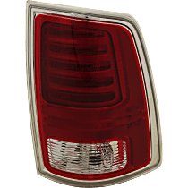 Passenger Side LED Tail Light, With bulb(s) - Fits Models With Express Trim, Premium Type, Chrome Interior, CAPA CERTIFIED