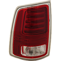 Driver Side LED Tail Light, With bulb(s) - Fits Models With Express Trim, Premium Type, Chrome Interior, CAPA CERTIFIED