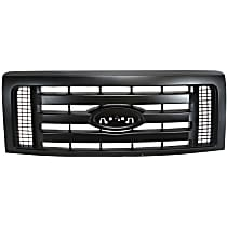 Grille Assembly - Textured Dark Gray Shell and Insert, XL Model