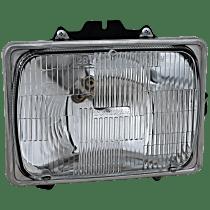 Passenger Side Headlight, With bulb(s) - Sealed Beam Type