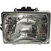Driver Side Headlight, With bulb(s) - Sealed Beam Type