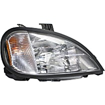 Passenger Side Headlight, With bulb(s) - (Freightliner Columbia 00-04, With Bulbs)