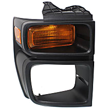CAPA Certified Passenger Side Parking Light, Without bulb(s)