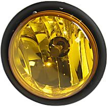 Fog Light Assembly - Driver or Passenger Side, Yellow Lens