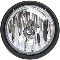 Fog Light Assembly - Driver or Passenger Side, Clear Lens