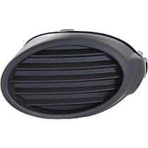Passenger Side Fog Light Cover, Textured Dark Gray