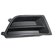 Passenger Side Fog Light Cover, Textured Black