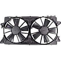 OE Replacement Radiator Fan - With or w/o Tow Pckg.