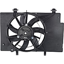 OE Replacement Radiator Fan - Fits 1.6L, Non-Turbo