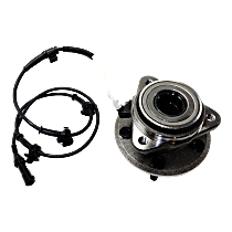 Front Wheel Hub Bearing Assembly Driver or Passenger side For 4WD Models with 5 Lugs