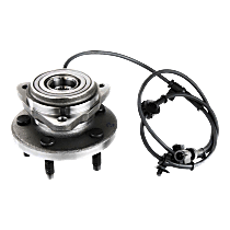 Front Wheel Hub Bearing Assembly Driver or Passenger side, For 4WD