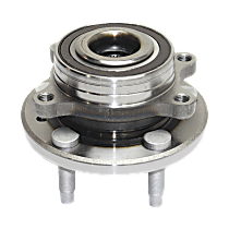 Front or Rear Wheel Bearing and Hub Assembly, Driver or Passenger Side