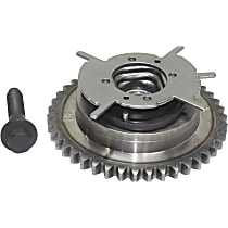 Camshaft Phaser Variable Valve Timing Sprocket Gear for 24 Valve Engines only, 2 in. Overall Height, 5.5 in. Overall Length