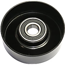 Replacement REPF317401 Accessory Belt Idler Pulley - Direct Fit, Sold individually Smooth Pulley