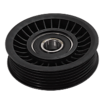 Accessory Belt Idler Pulley - Direct Fit, Sold individually Grooved Pulley