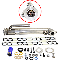 Replacement REPF382301 EGR Cooler - Direct Fit, Kit