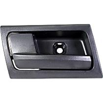 Interior Door Handle - Front or Rear, Driver Side, Black