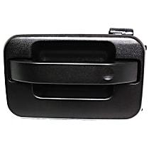 Rear, Driver Side Exterior Door Handle, Textured Black