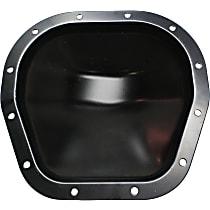 Differential Cover - Steel, Except 8 Cylinder, 6.4 Liter Engine