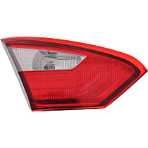 Driver Side, Inner Tail Light, With bulb(s) - Sedan