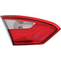 Driver Side, Inner Tail Light, With bulb(s) - Sedan, CAPA CERTIFIED