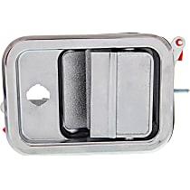 Front, Passenger Side Exterior Door Handle, Chrome