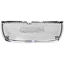 Grille Assembly - Chrome Shell and Insert, Denali Model